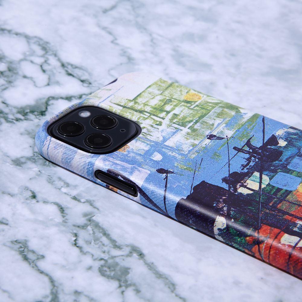 마마마스튜디오 비가오는 풍경 범퍼 폰케이스 - 상신코리아, 23,900원, 케이스, 기타 스마트폰